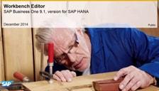 SAP Business One Hana Workbench Editor