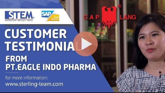 STEM SAP Gold Partner Indonesia Testimoni - PT Eagle Indo Pharma (Caplang)