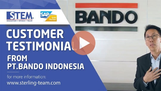 STEM SAP Gold Partner Indonesia Testimoni - PT Bando Indonesia
