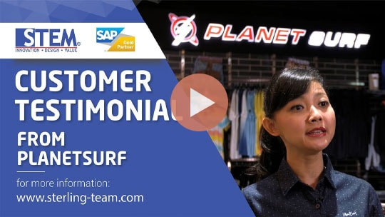 STEM SAP Gold Partner Indonesia Testimoni - PT Planet Selancar Mandiri (Planetsurf)
