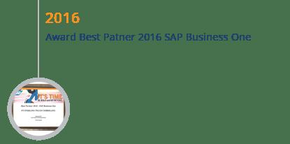 History STEM SAP Gold Partner Indonesia mendapatkan Award Best Partner SAP Business One 2016