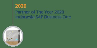 STEM Mendapatkan Award Partner of The Year Indonesia SAP Business One 2020
