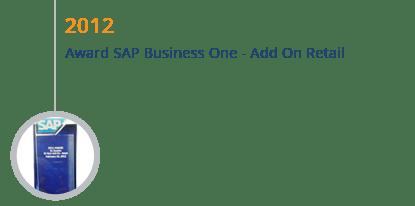 STEM Mendapatkan Award SAP Business One Add on Retail