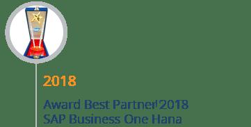 STEM Mendapatkan Award Best SAP Business One Hana Partner 2018