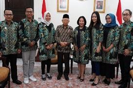 Wapres RI K.H. Ma�ruf Amin Menerima Pengurus Assosiasi IUMKM Indonesia