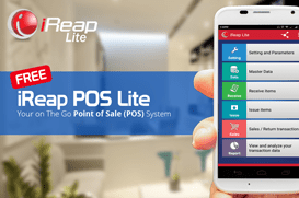 FREE iREAP POS Lite On Android